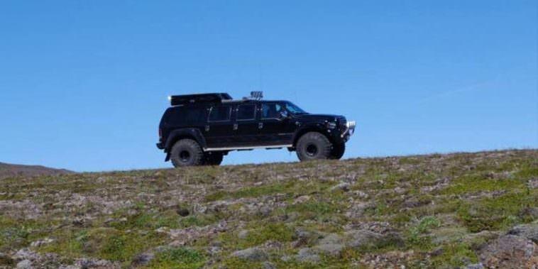 Super Jeep In Reykjanes