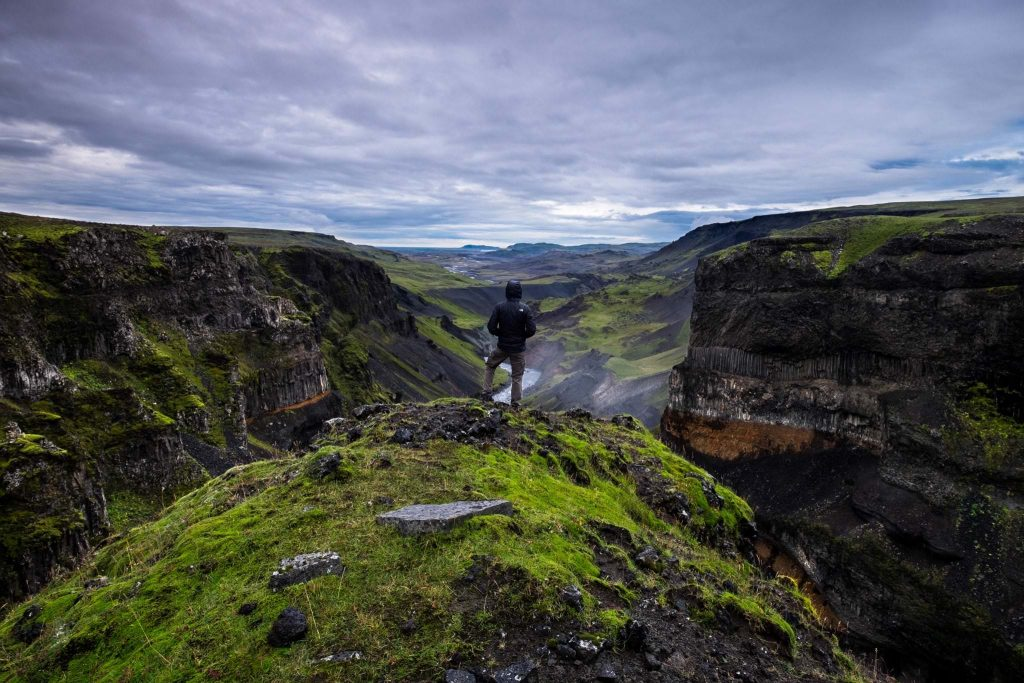 Thorsmork in Southern Iceland