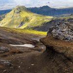 Trekking fimmvorduhals, from Skogarfoss to Thorsmork