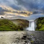 Amazing waterfalls in Iceland