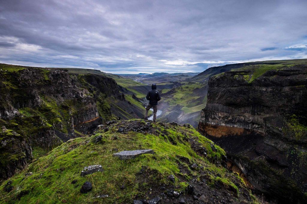 Þórsmörk Nature Reserve in Iceland