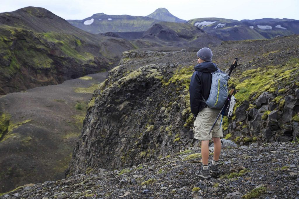 Laugavegur Hiking Trail in Iceland