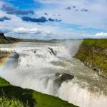 Gullfoss Waterfall, Golden Circle route, Southern Iceland