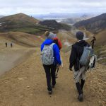 Trekking in south iceland