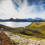 Hiking trails in Iceland Laugavegur