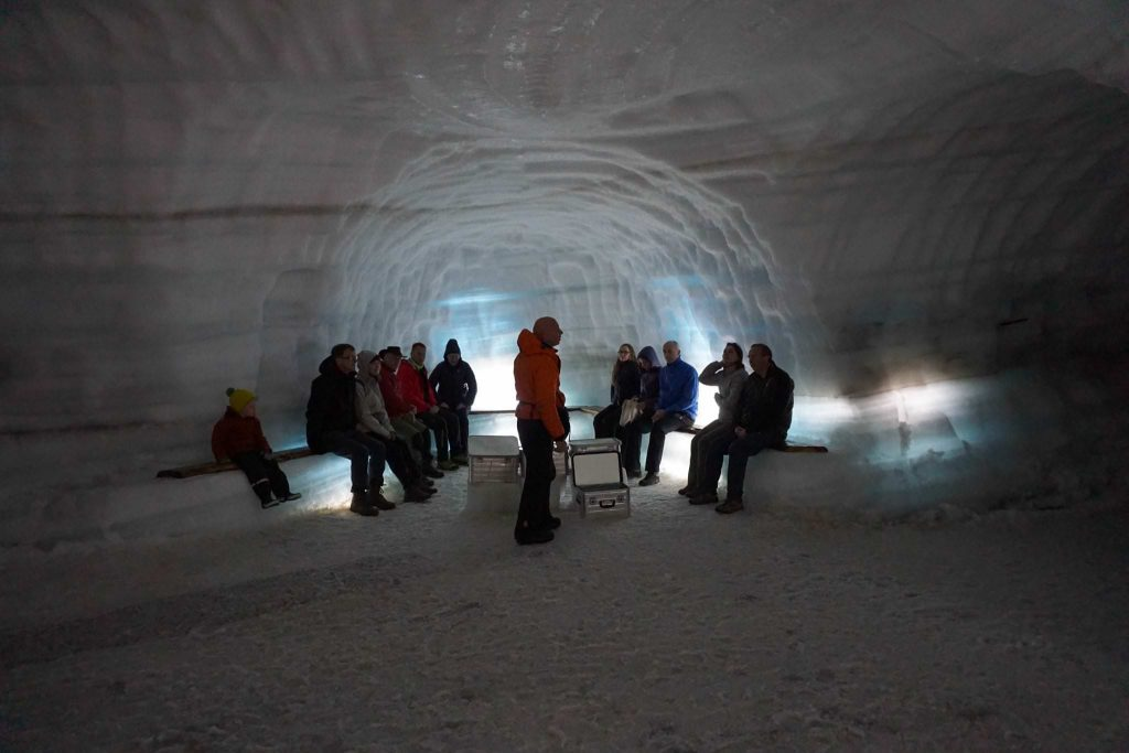 Ice cave classic tour in Iceland