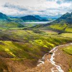laugavegur Trekking Trailin the Higlands of South Iceland