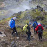 Laugavegur family trek, South Iceland