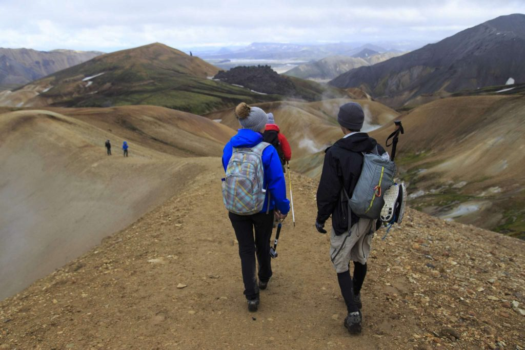 Laugarvegur Hiking in South Iceland