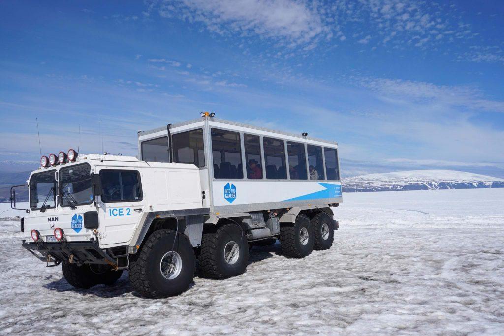 Modified Glacier Truck
