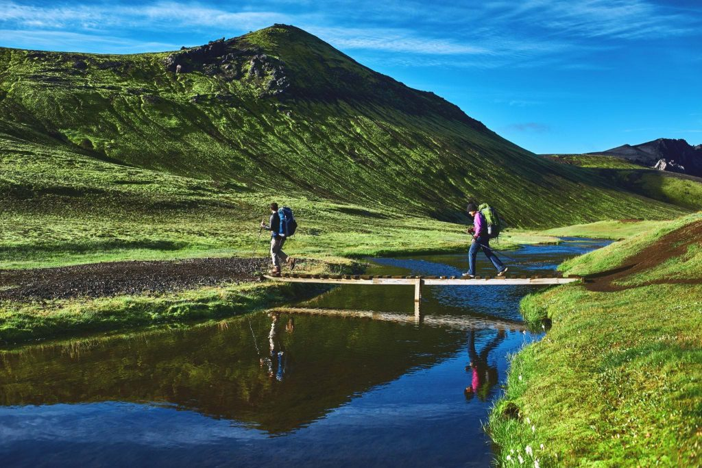 Reykjadalur Hiking Trail, South Iceland