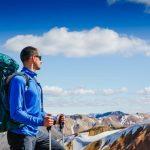 Trekking in the highlands in Iceland