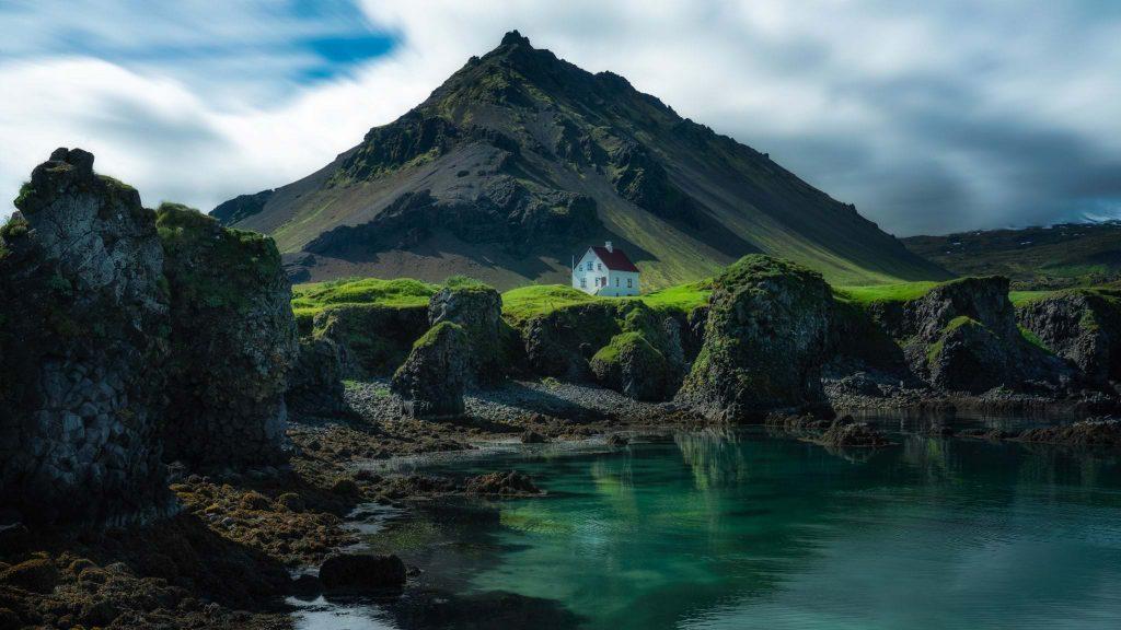 Arnarstapi in West Iceland