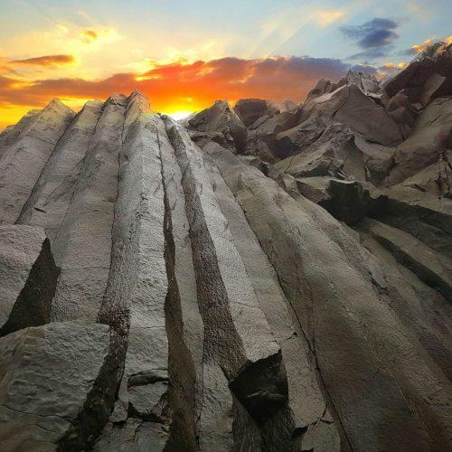 Basalt rock at Reynisfjara