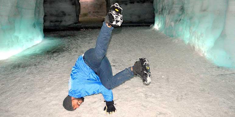 Into The Glacier Ice Cave