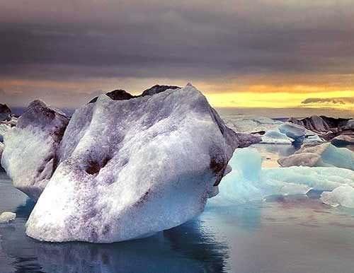 Jökulsárlón Glacier Lagoon & Waterfalls