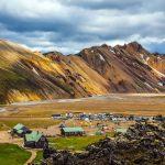 Landmannalaugar geothermal area in South Iceland