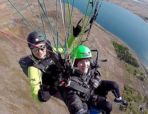 Paragliding Reykjavik Iceland