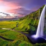 Seljalandsfoss in South Iceland