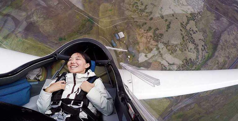 Glider Flight In Iceland