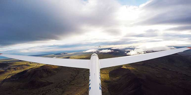Glider Flight Tour Iceland