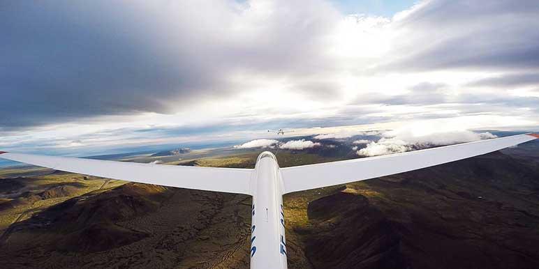 Glider Flight Tour Iceland