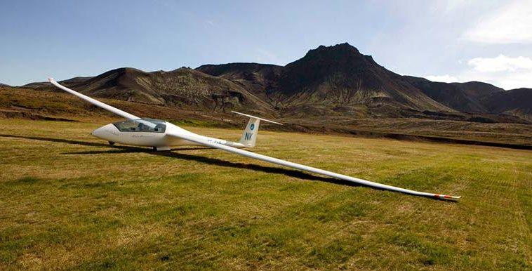 Glider Plane Iceland