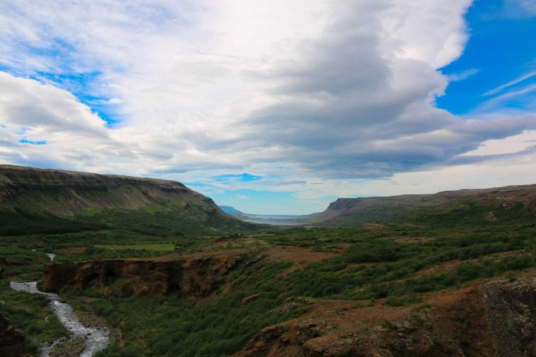 Glymur hiking area