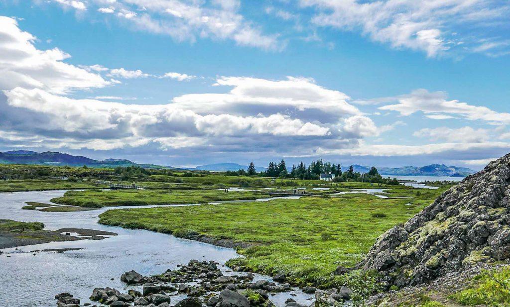 Thingvellir, golden circle, southwest Iceland