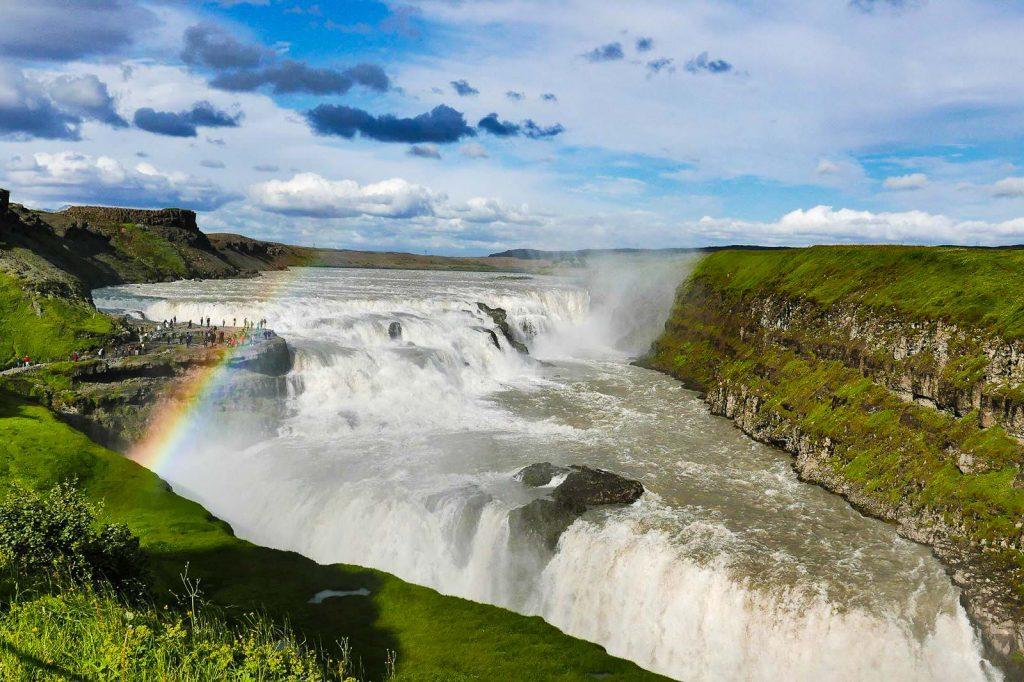 gullfoss golden circle, southwest Iceland