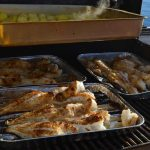 Icelandic sea grill