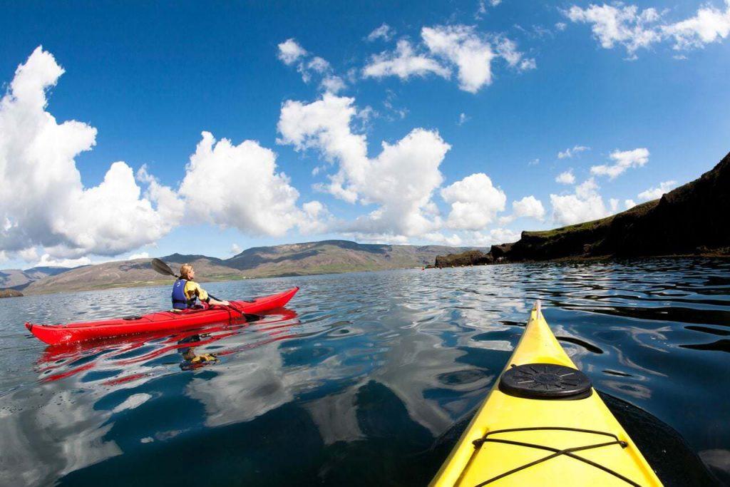Kayaking Iceland