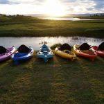 Kayaks in Iceland
