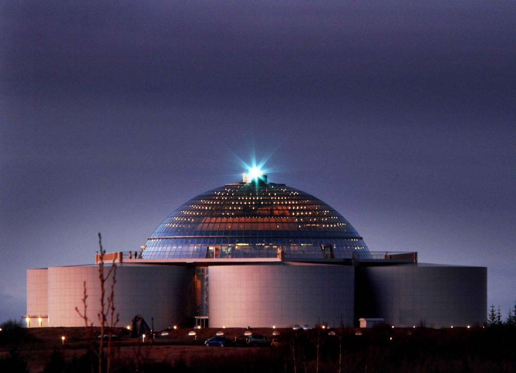 Perlan Dome in Reykjavik