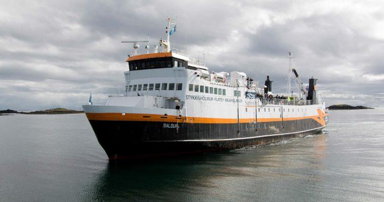 Ferry to Flatey