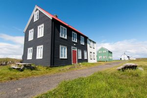 Old Icelandic houses