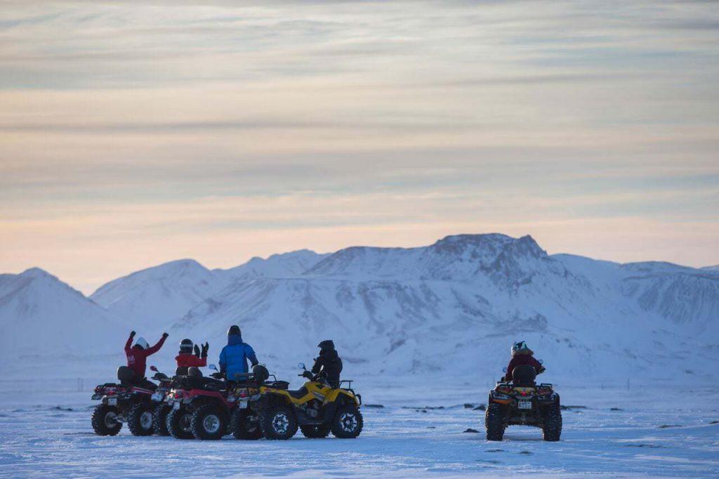 ATV near Reykjavik