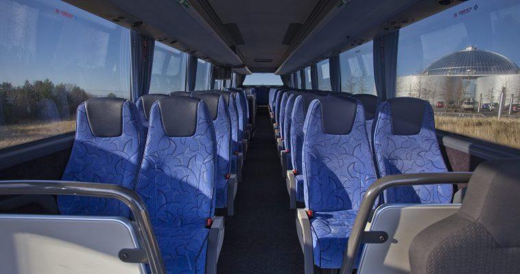 Inside the aircoach
