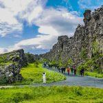 Thingvellir National Park in South Iceland