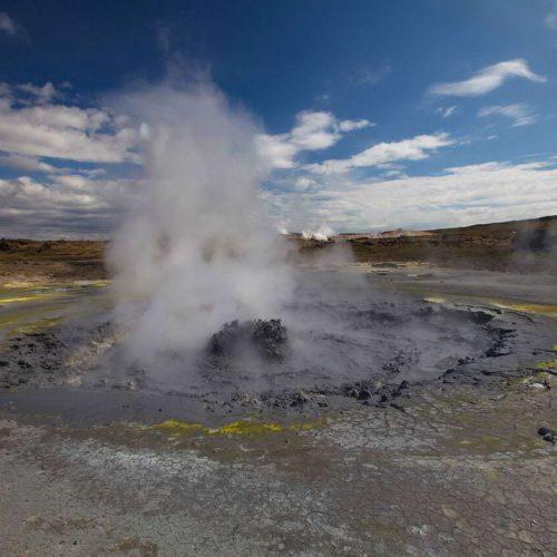 Gunnuhver Geothermal site