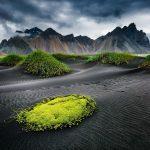 Mountains south coast Iceland
