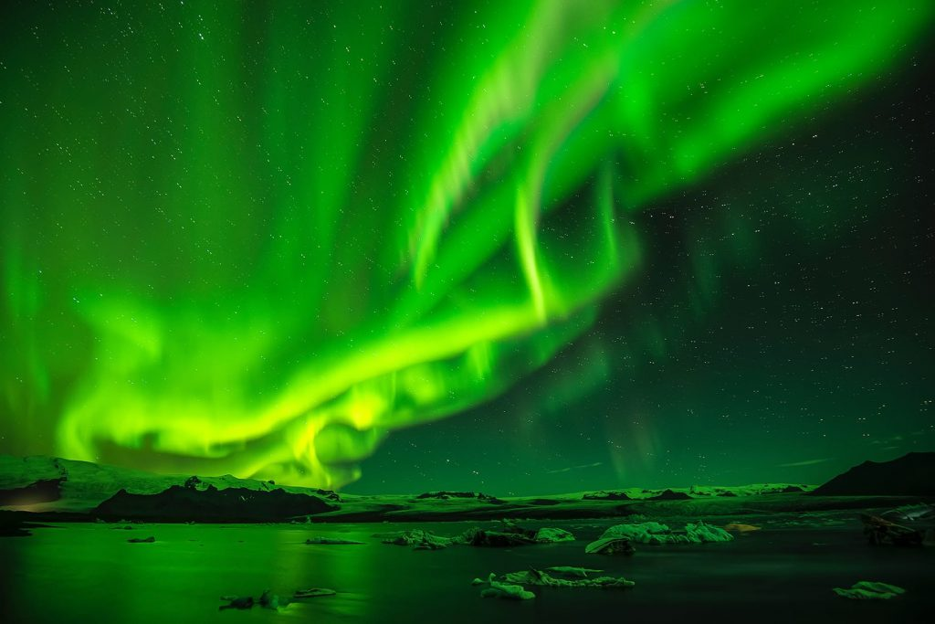 northern lights by Paul Morris