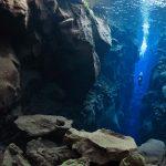 Underwater in Iceland