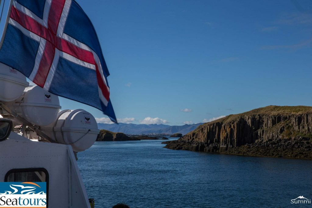 seatours from stykkisholmur Iceland