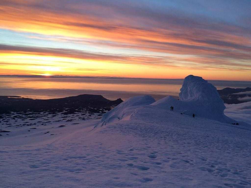 Snæfellsjökull glacier, West Iceland