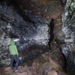Raufarholshellir lava tunnel cave