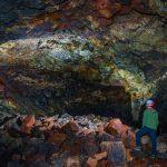 raufarholshellir lava cave in Iceland