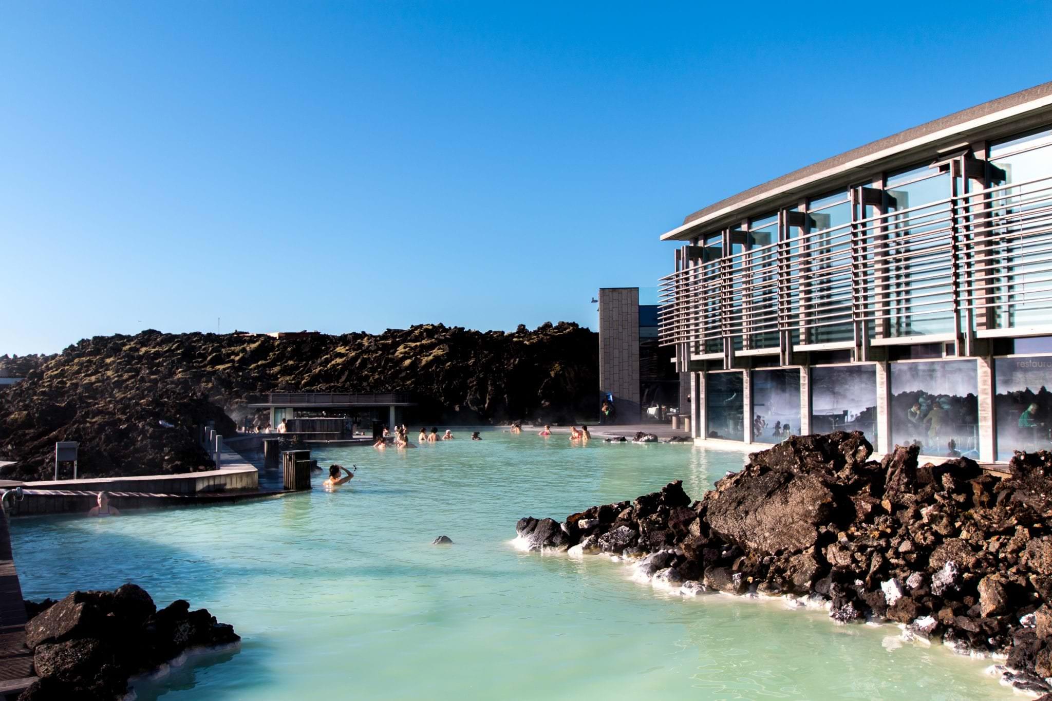 The Blue Lagoon in Reykjanes Peninsula