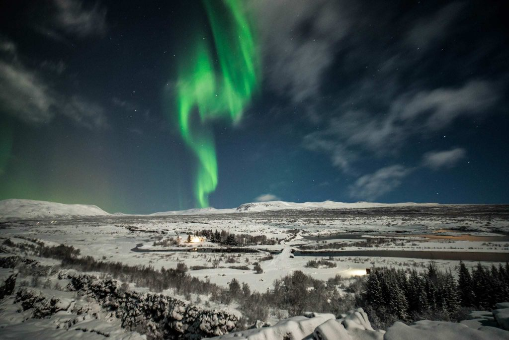 premium northern lights tour Iceland