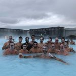 Group enjoying the Blue Lagoon